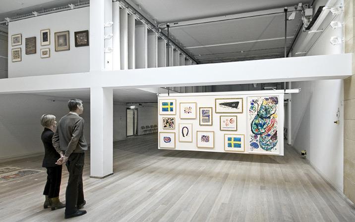 Ausstellungsanlage für Kunstwerke (Gemälde)